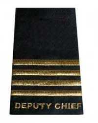 FSU Black Pair Epaulettes